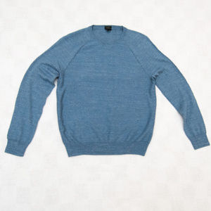 J Crew 100% Cotton Slim Fit Crewneck Sweater